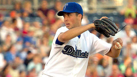 Jeff Francis struck out two over seven scoreless innings Tuesday.