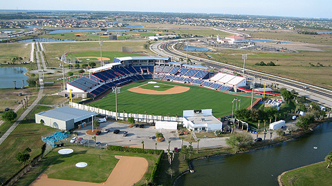 The Brevard County Manatees play at Space Coast Stadium.