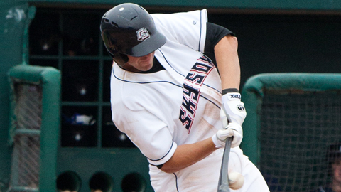 Colorado Springs' Brad Eldred has 183 homers during a 10-year Minor League career.