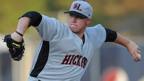 Robbie Ross has allowed four earned runs in his last seven starts for Hickory.