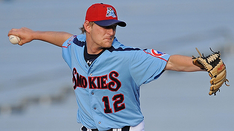 Austin Bibens-Dirkx is 4-1 with a 2.05 ERA since arriving at Double-A.