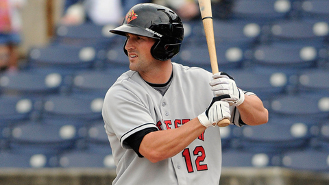 Brian Dinkelman had a two-RBI triple in Rochester's 10-run first inning.