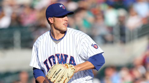 RH Mitch Atkins was optioned back to Iowa yesterday from Chicago. Over his last two starts for Iowa, Atkins is a combined 1-0 with a 0.75 ERA.