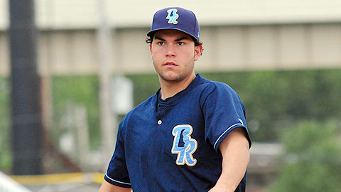 Wilmington's Eric Hosmer leads the Carolina League with a .359 average.