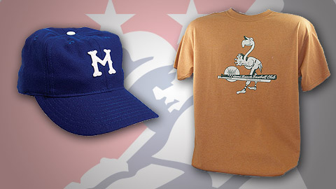 The Today Show featured a 1946 Montreal Royals cap and 1954 Miami Beach Flamingos shirt.