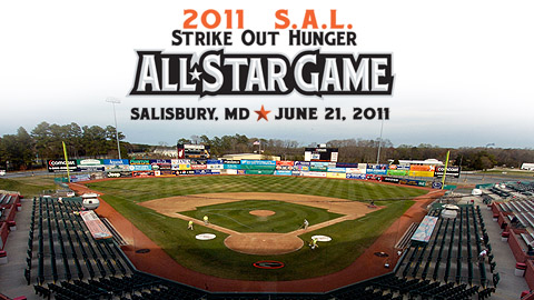 The Shorebirds will host the All-Star Game for the first time since 1999.