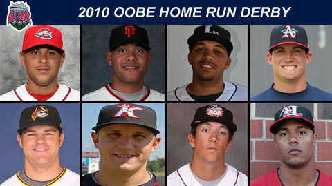 The Oobe Home Run Derby will begin at 6 PM, with the finals after the 2nd inning.
