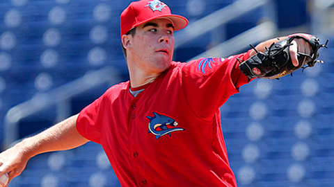 Trevor May is fifth in the Florida State League with 84 strikeouts.