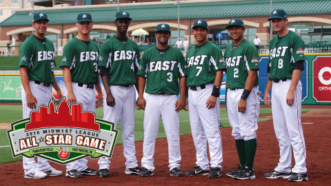 Savage, Sands, Vasquez, Ynoa, Lara, Songco and Webster represent the Loons Eastern All-Stars.