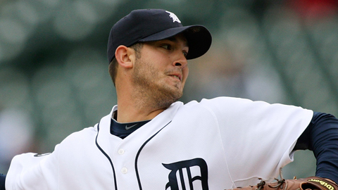 Rick Porcello was named the Tigers' Rookie of the Year in 2009.