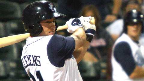 Koby Clemens has 16 home runs and 51 RBIs for the Hooks.