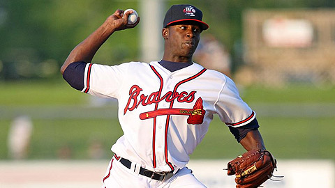 Arodys Vizcaino, shut down by the Braves, had nine wins.