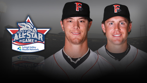 Steve Edlefsen (left) and Brock Bond will represent Fresno at the 2010 All-Star Game.