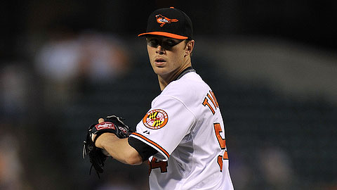 Chris Tillman is 3-0 with a 1.66 ERA since his return to Triple-A.