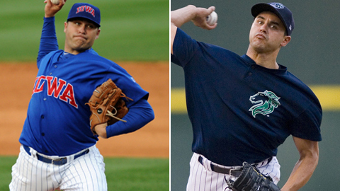 Thomas Diamond and Carlos Torres are the All-Star starting pitchers.