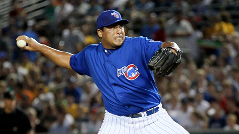 Carlos Zambrano started game one for Magallanes in the Venezuelan Championship Series.
