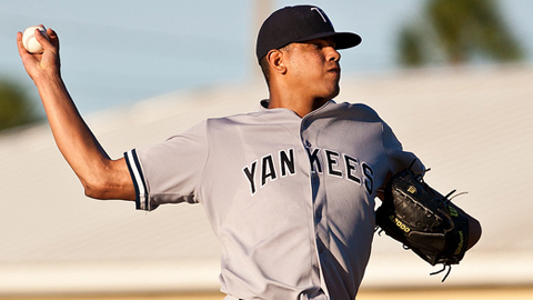 Dellin Betances has 68 strikeouts in 57 innings for Class A Advanced Tampa.