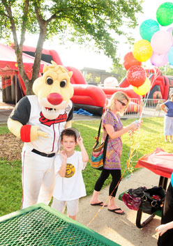 Non Gameday Birthday Parties Celebrate Your Special Day With Ozzie The Mascot Of Nashville Sounds Whenever And Wherever Youd Like
