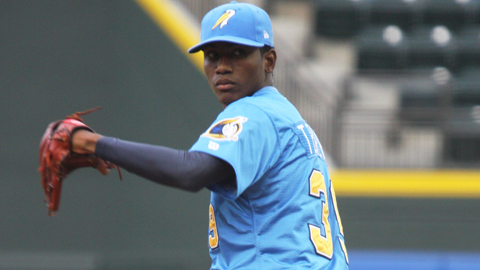 Braves prospect Julio Teheran struck out 14 over his second and third Double-A starts.