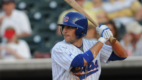 OF Sam Fuld was optioned back to Iowa from Chicago today.