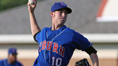 Drew Hutchison went 1-1 with a 3.00 ERA in 10 starts at Auburn.