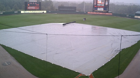 Ripken Stadium on Sunday afternoon.