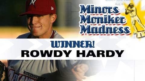 Rowdy Hardy leveraged his unique name and a grassroots campaign to take the 2010 title.