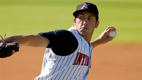 Matt Wickswat is 6-5 with a 4.26 ERA as a starter for Kannapolis.