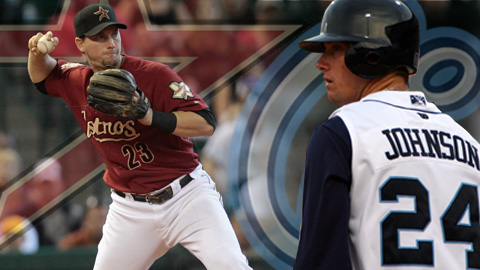 Hooks alum Chris Johnson (2008) is a candidate for NL Rookie of the Year.
