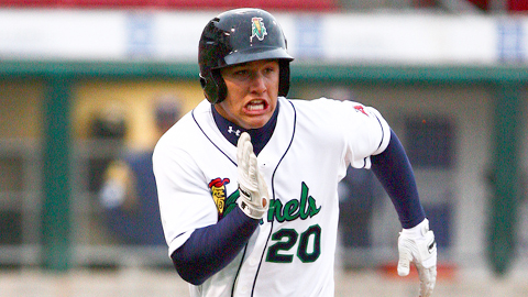 Mike Trout hit .362 in 81 games in the Midwest League.
