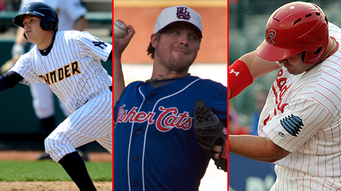 Brandon Laird, Kyle Drabek and Matt Rizzotti Highlight The 2010 Eastern League All-Star Team