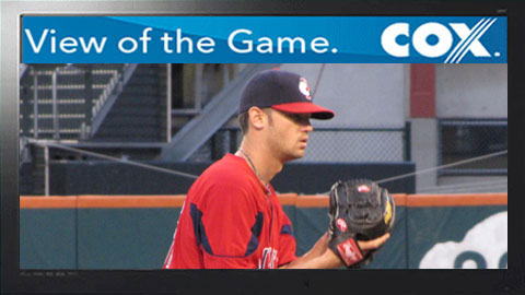 Kris Johnson tossed 6 shutout innings for the PawSox on Saturday.