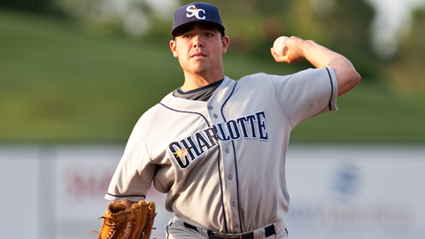 Matthew Moore's 197 strikeouts lead all of the Minor Leagues.