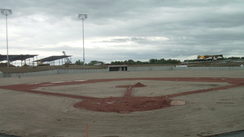 Sarpy County Ballpark will be ready for Triple-A action in 2011.