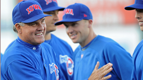 Ryne Sandberg managed at the Triple-A level for the first time in 2010.