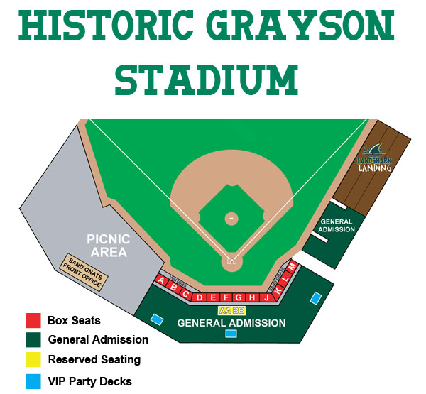 Historic Grayson Stadium Seating Chart