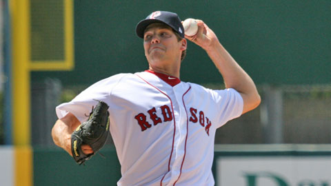 Rich Hill posted a 3-1 record with 55 strikeouts in 19 appearances for the PawSox.