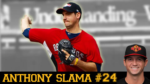 Anthony Slama came to the Wings August 12, 2009.