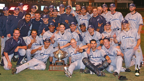 After winning the Cup, Columbus will play for the Triple-A title.