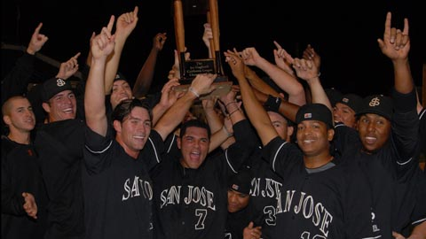 The Giants were the first Cal League repeat in a decade.