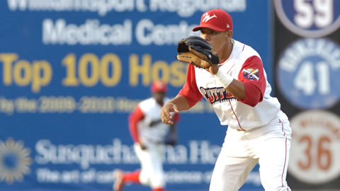 Cutters MVP Cesar Hernandez was named the #9 prospect in the NY-P by Baseball America