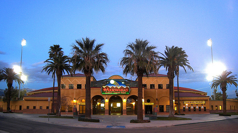 Arrowhead Credit Union Park will host Angels prospects in 2011.