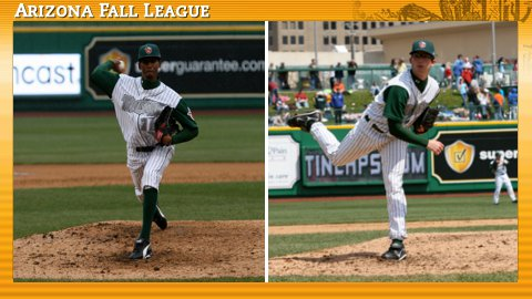RHPs Alexis Lara and Erik Davis are ticketed for the Arizona Fall League.