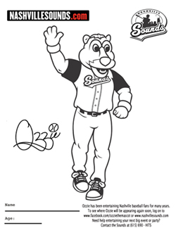 nashville tennessee coloring pages - photo#13