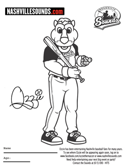 nashville tennessee coloring pages - photo#17