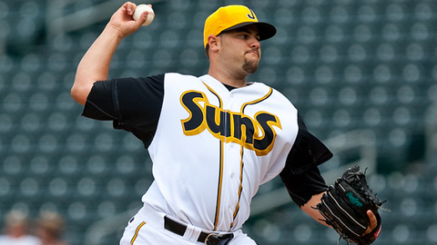 The Suns' Elih Villanueva led the Southern League with a 2.26 ERA.
