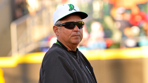 Dragons Pitching Coach Tony Fossas