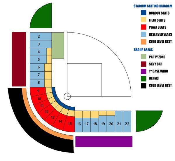 2016 cashman field seating chart las vegas aviators cashman field