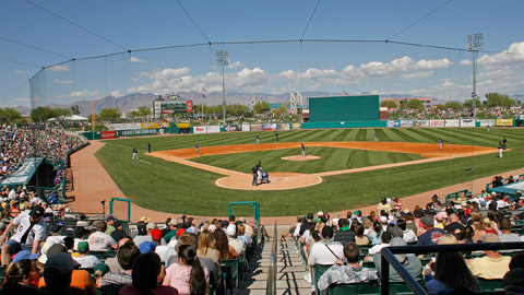 The new home of the San Diego Padres' Triple-A affiliate is expected to be Tucson Electric Park.