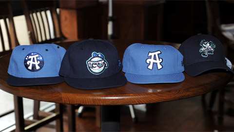 The Asheville Tourists have a different style for every lover of caps.